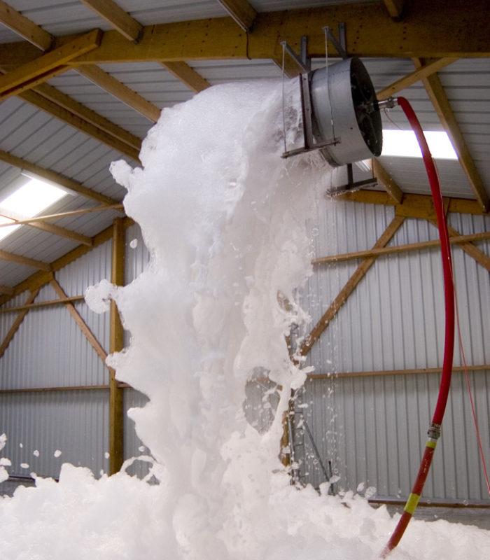 high expansion firefighting foam generator