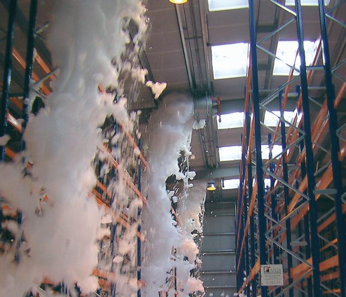 high expansion foam