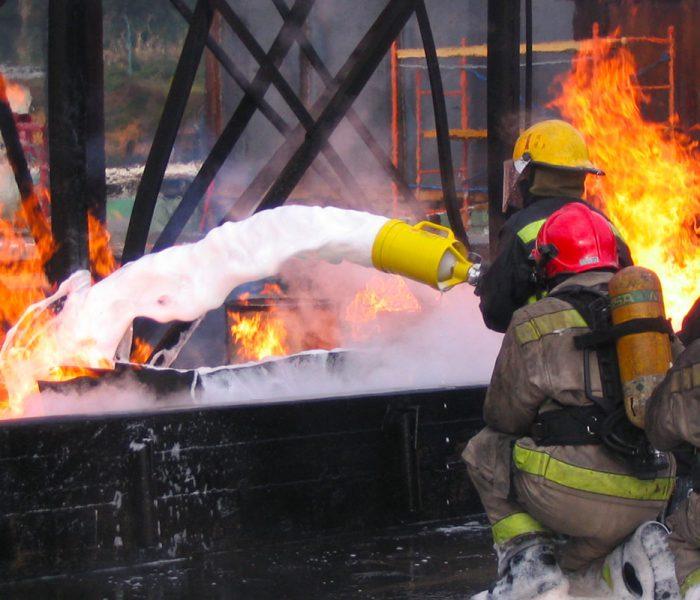 emulseur anti-incendie pour brigade de sapeurs pompiers