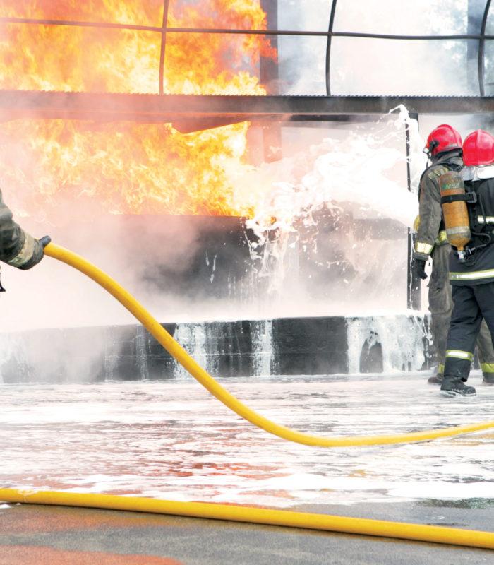 hydrocarbon fire