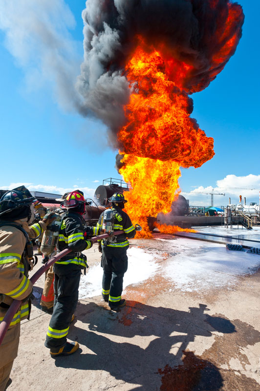 Oil & Gas fire fighting foam concentrate