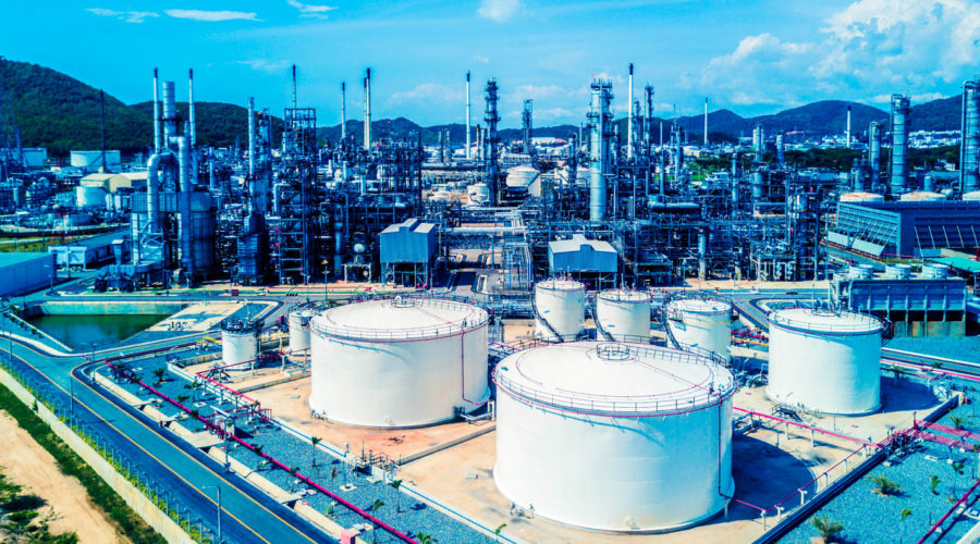 oil refinery, refinery plant, refinery factory.