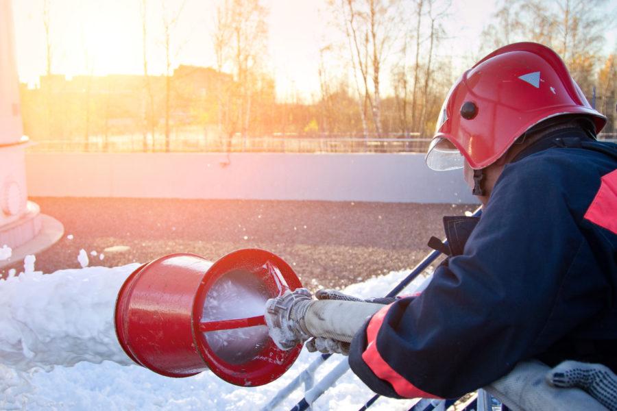 Emulseur anti-incendie