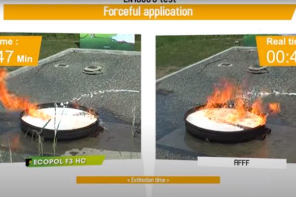 ECOPOL F3HC vs AFFF